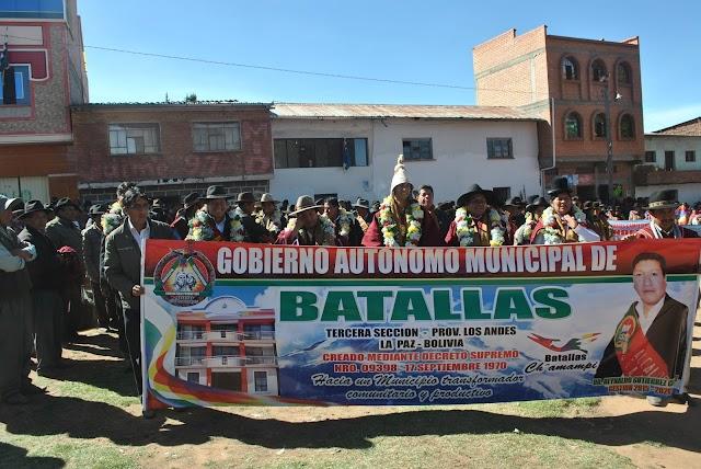 Batallas: municipio paceño (Bolivia)