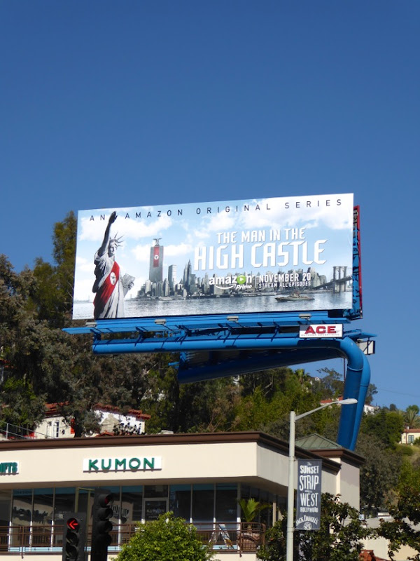 Man in the High Castle series billboard