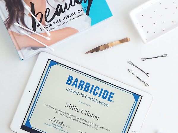 Can I go back to the beauty salon if they have passed the BARBICIDE® COVID-19 Certification Course?