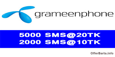 Grameenphone Sms Bundle Offer