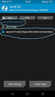 cara mudah install xposed installer xiaomi