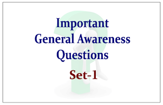 List of Expected General Awareness Questions for Upcoming RBI/SBI Exams 2015