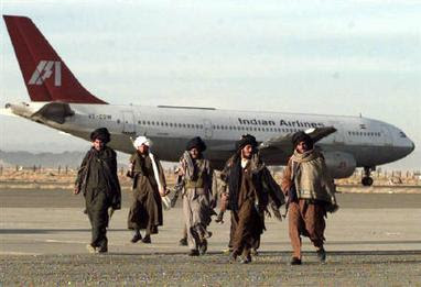 Indian Airline Flight 814 Hijack Picture with Taliban Terrorist