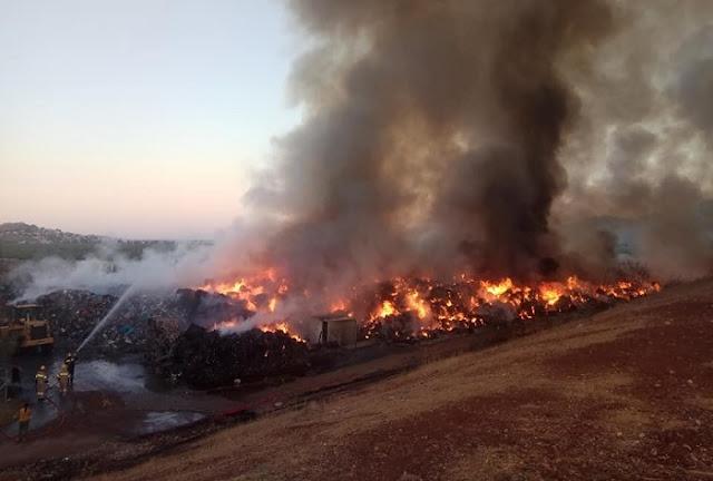 Μάχη των πυροσβεστικών δυνάμεων στη φωτιά στο Άστρος Κυνουρίας