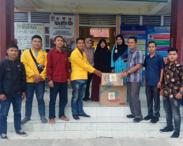 STIE-SAK Kirim Bantuan Untuk  Korban Tsunami Lombok dan Banten