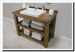 pallet bathroom vanity plans
