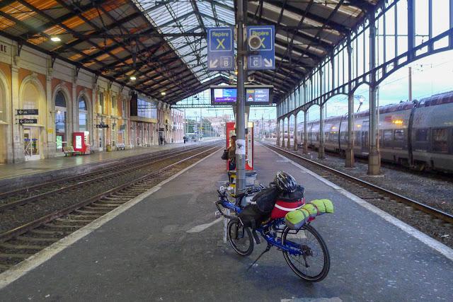 De Paris à Narbonne en vélo, Gare de Narbonne