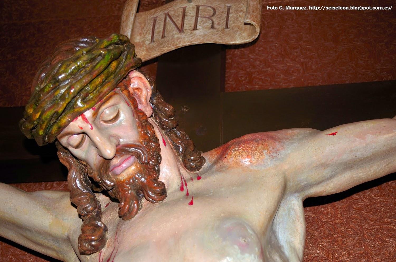 Santo Cristo de la Redención. Cofradía de la Redención. León. Foto G. Márquez