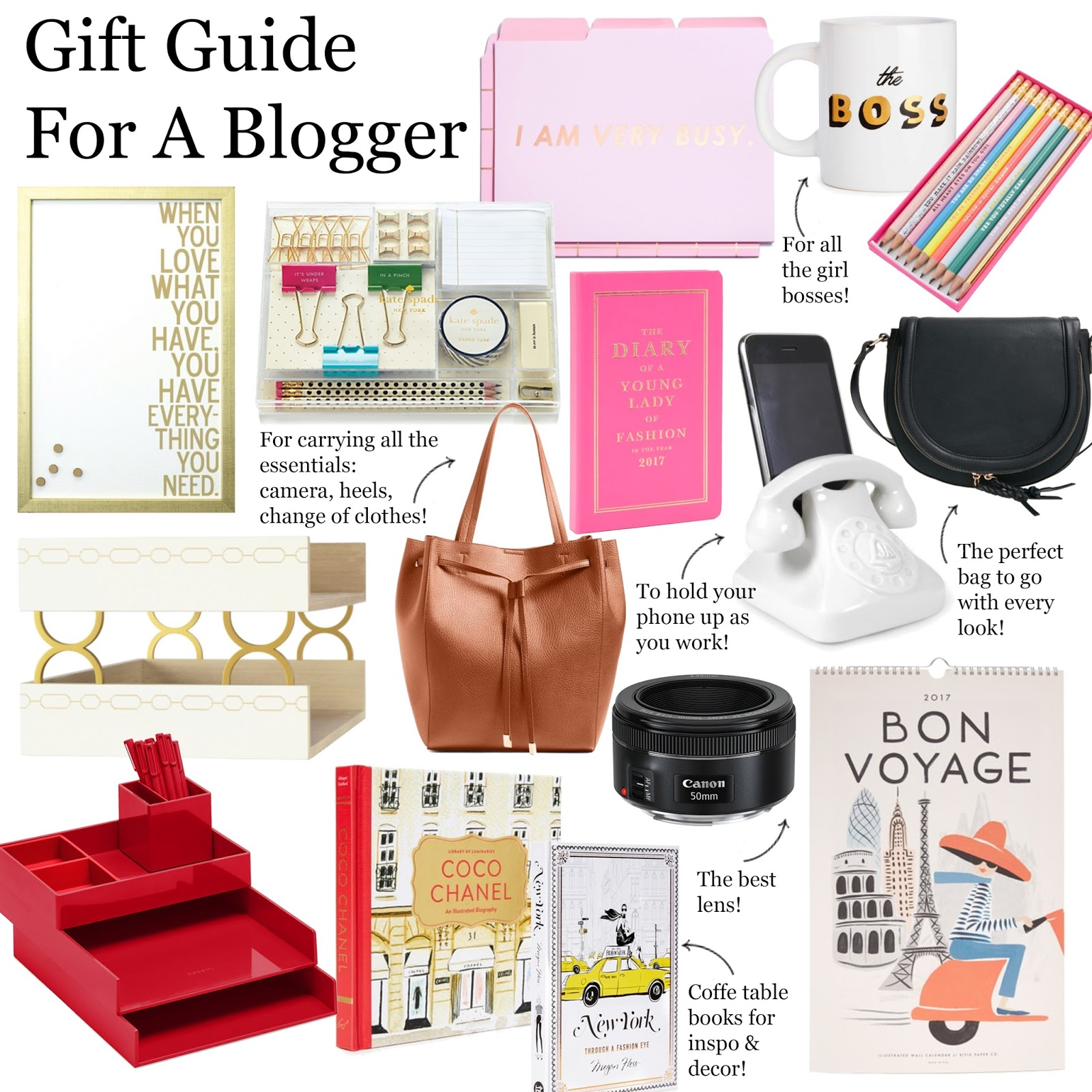 Gift Guide For A Blogger Live Laugh Linda Quinones