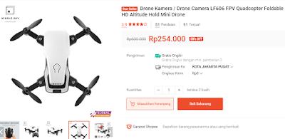 Harga mini drone di Singo