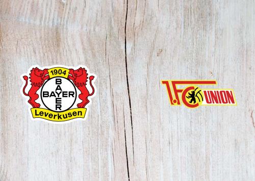Bayer Leverkusen vs Union Berlin -Highlights 15 May 2021