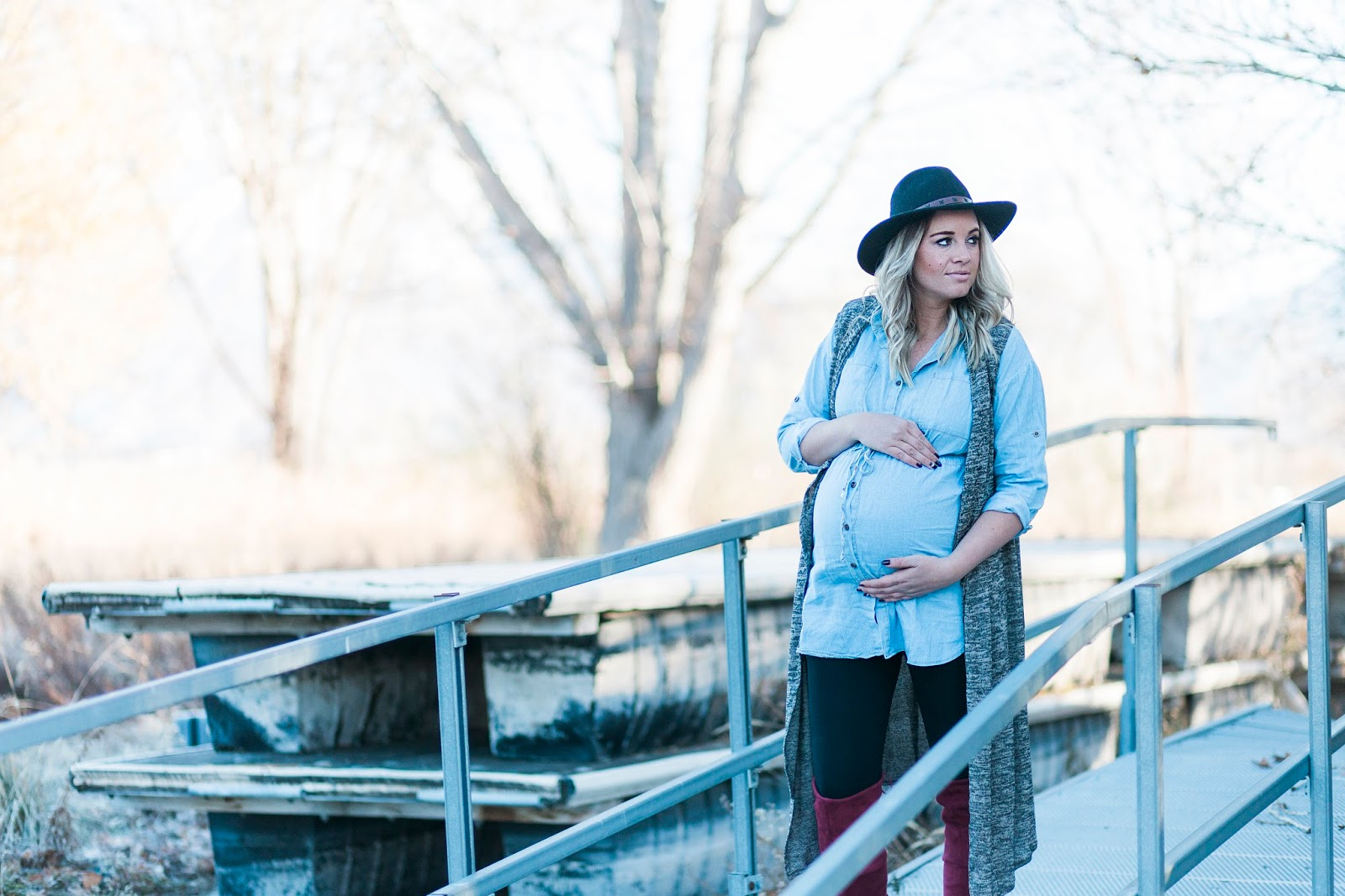 Fall Outfit, Winter Outfit, Pregnant Style