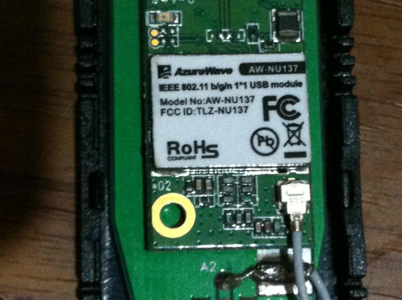 Before it gets forgotten: Modify Atheros AR9271 USB WiFi
