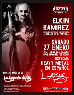 POSTER Homenaje Elkin Ramírez a 1 año de su partida 1