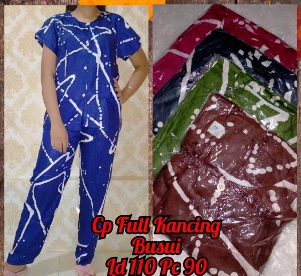 Setelan Celana + Baju Kancing Full A-144
