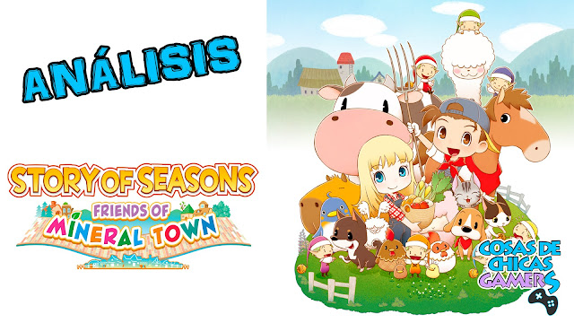 Portada - Story of Seasons: Friends of Mineral Town