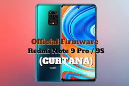 Firmware Redmi Note 9 Pro (Curtana)
