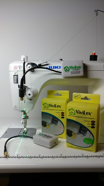 ViviLux sewing machine lasers