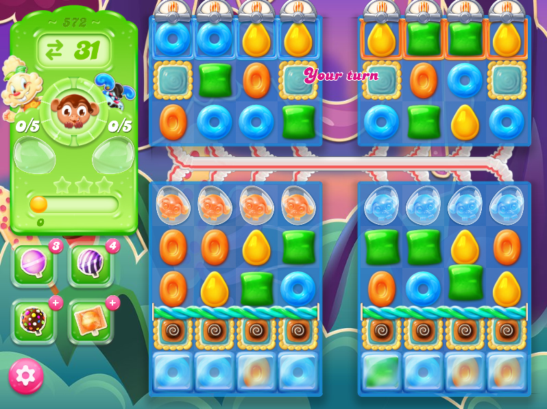Candy Crush Jelly Saga level 572