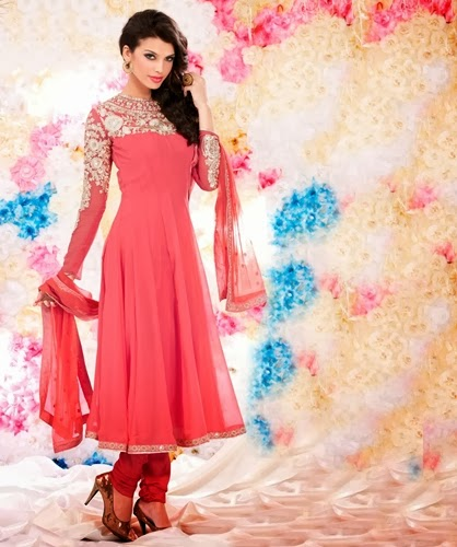 Koti style design pakistani dress