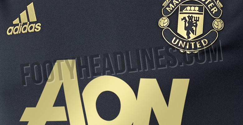 a474414753f Third Kit Colors Confirmed - Classy Manchester United 18-19 Champions  League Training Shirt Leaked