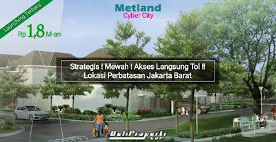 cluster terbaru metland cyber city