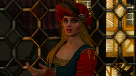 triss and geralt relationship witcher 3 endings