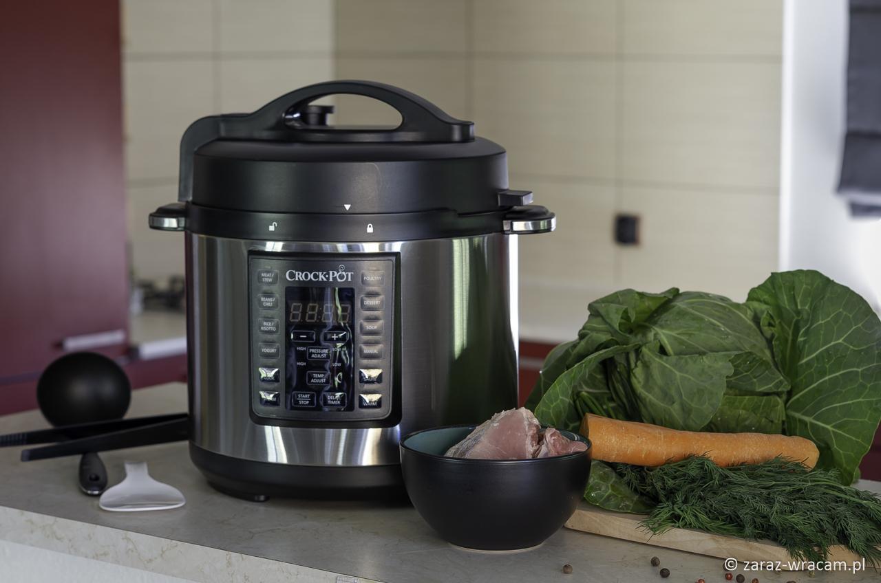 Mój sposób na szybkie i zdrowe posiłki- Multicooker Crock-Pot