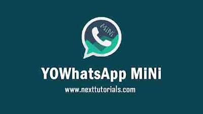 Download YOWhatsApp MiNi v12 Apk Latest Version Android, yowa mini v12, aplikasi wa mod terbaru 2020,yowa mini update 2020,tema whatsapp mod keren