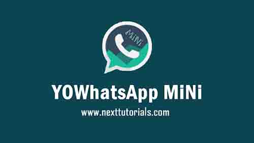 YOWhatsApp MiNi v23 Apk Latest Version Android, Install Aplikasi YOWA Mini Anti Banned Update Terbaru 2021,tema yowhatsapp,wa mod untu hp kentang