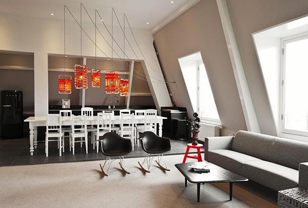 Büroinnenraum mit modernem