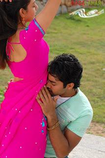 Kajal Agarwal Hot Navel Kiss