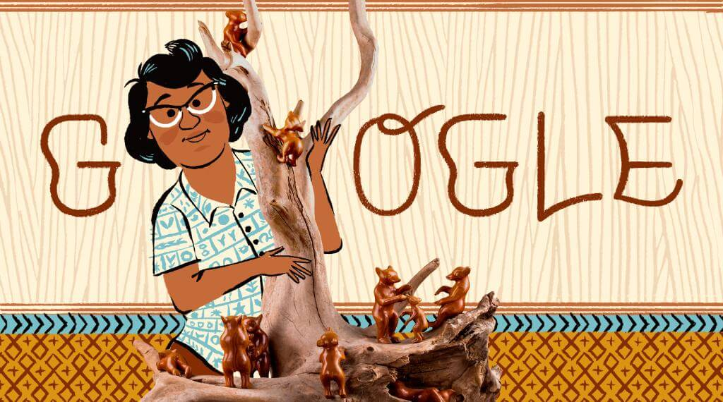 Google Doodle Celebrates the Life and Work Legendary Cherokee Woodcarver Amanda Crowe