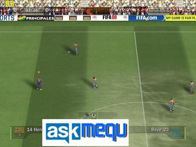 تحميل لعبة فيفا 2008 من ميديا فاير