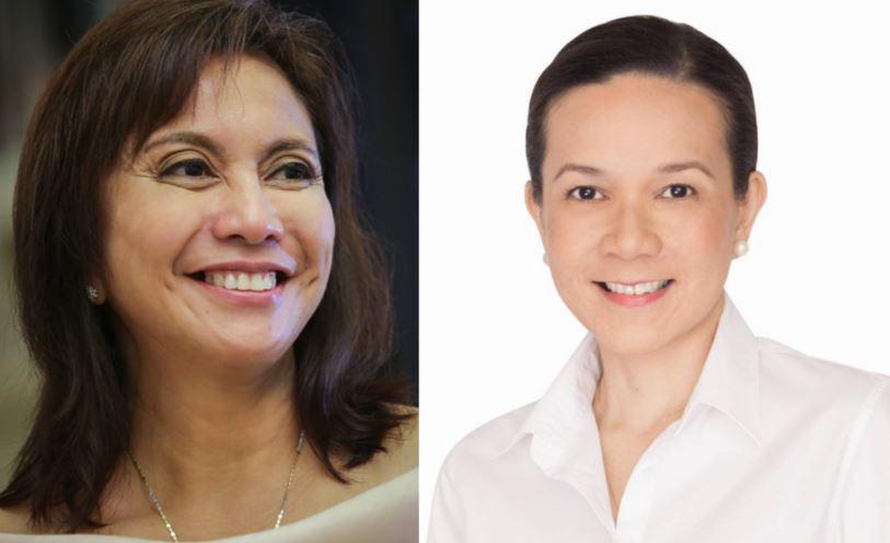 Vice President Leni Robredo and Senator Grace Poe