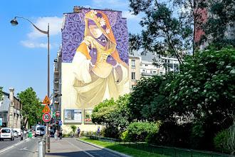 Sunday Street Art : Inti - Madre Secular - Street Art 13 Galerie Itinerrance - boulevard Vincent Auriol - Paris 13