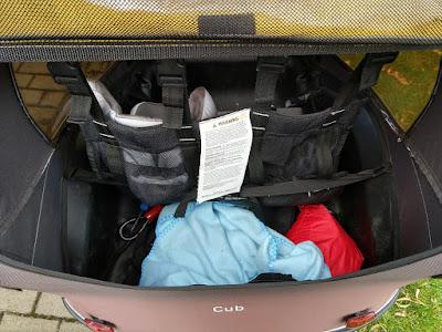 Burley Cub Gepäcktransport