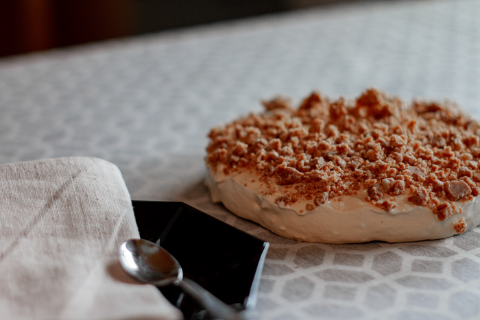 suolainen kinuski-toffee juustokakku ketona.