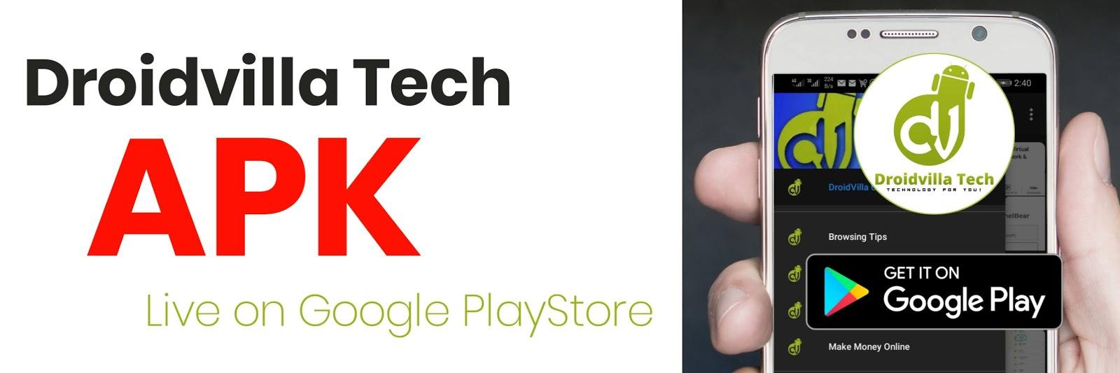 Dvtech apk Google PlayStore