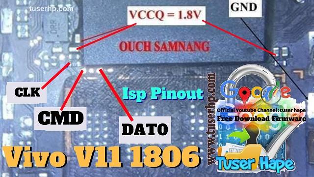 isp pinout vivo v11 mtk
