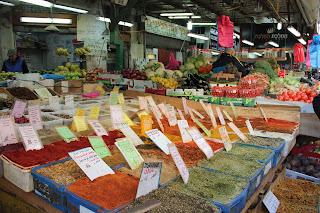 Marché HaCarmel de Tel Aviv