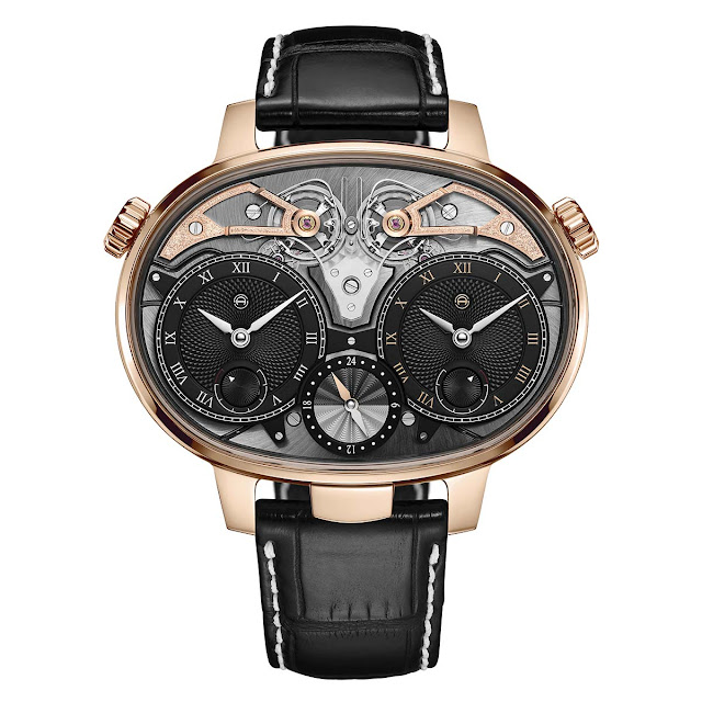 Armin Strom Dual Time Resonance in Rose Gold