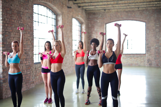 Women Working Out In Different Ways