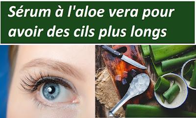 Comment avoir des cils plus longs en utilisant l'aloe vera