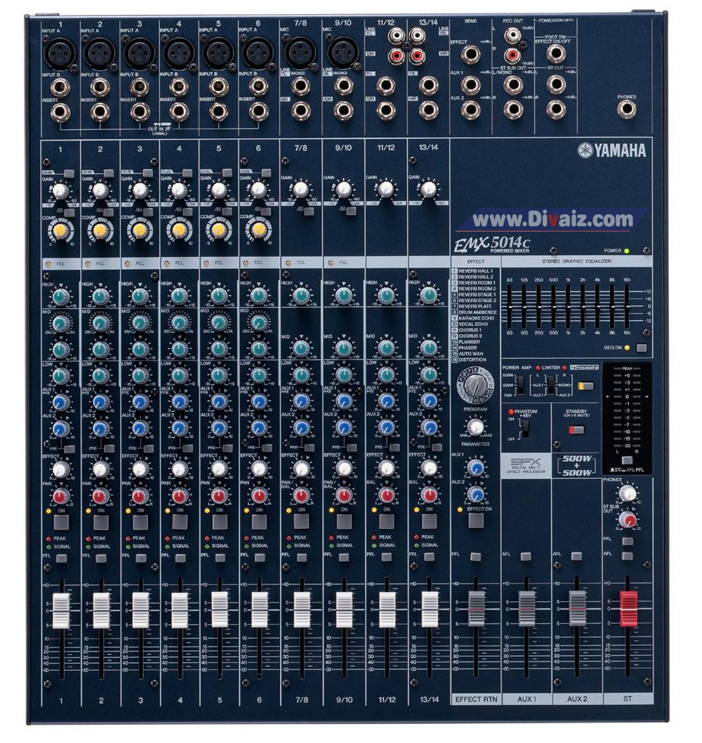 Mixer Yamaha EMX5014C - www.divaizz.com
