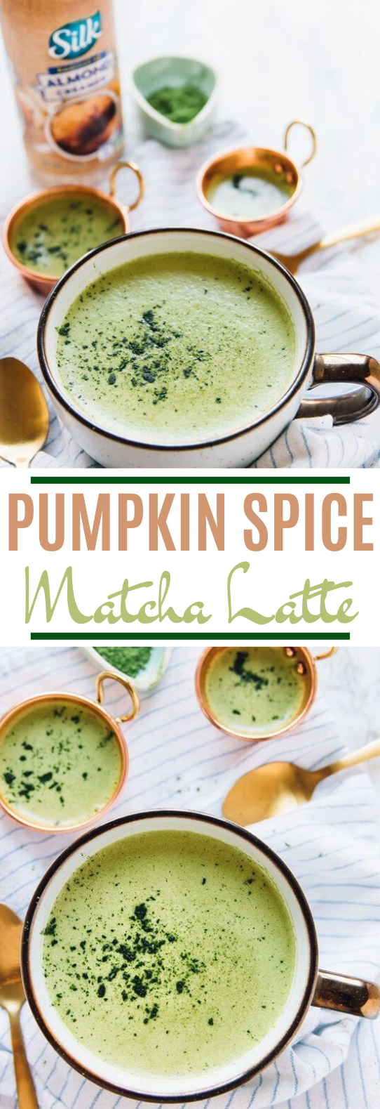 Pumpkin Spice Matcha Latte #drinks #latte #matcha #warm #healthy #pumpkin