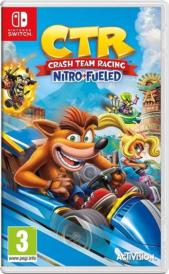 Crash Team Racing Nitro Fueled NSP Switch