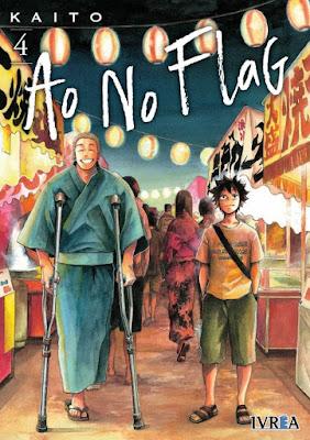 """Manga: Review de """"Ao no Flag"""" Vol.4 de Kaito - Ivrea"""