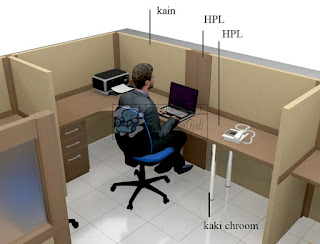 Pabrik Furniture Kantor Bongkar Pasang Kirim Luar Jawa + Furniture Kantor Semarang