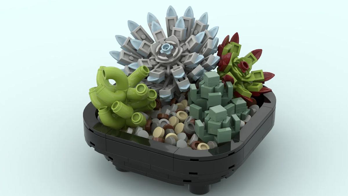 レゴアイデアで『多肉植物』が製品化レビュー進出!2021年第1回1万サポート獲得デザイン紹介